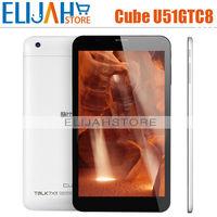 2015 New Cube U51GTC8 MTK8392 28NM Cortex A7 Octa Core 2.0Ghz Tablet PC 7'' 1024*600 IPS 1GB/8GB Dual Camera 0.3MP/2.0MP Wifi