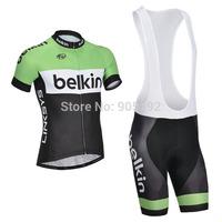 Free Shipping Belkin 2015 Cycling Jersey Bibs shorts Custom design cycling jerseys accepted S10
