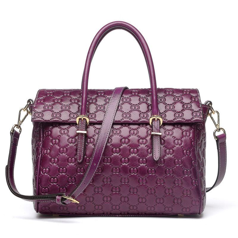 2015 Single Handbags Hot Sale New Womens Designer Leather Bag High Quality Oil Wax Handbag 100% Genuine Laptop Messenger 83545(China (Mainland))