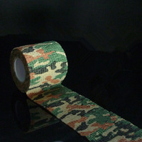2PCS Kombat Army Camo Bandage Wrap Rifle Shooting Hunting Camouflage Stealth Tape 4.5M Length High Quality