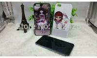 3 Colors For iPhone 6 Plus TUP+PC Case Sublimation Case For iPhone 6 plus 5.5 inch Rubber case 10pc/lot