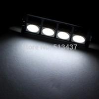 41mm 4 5050 SMD LED Canbus White Car Interior Dome Festoon Light Lamp Bulb