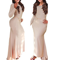 Hot Sale!! Women Winter Dress 2014 New Fashion Gray Casual Dress Long Sleeve Autumn Dresses Vestidos