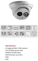 Free shipping Hikvision original camera DS-2CD2332-I POE EXIR Turret Network Camera 3MP dome camera mini camera DS-2CD2332-I
