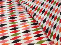 140cm*100cm 50s Vintage diamond lattice twill satin fabric poplin fabric handmade diy
