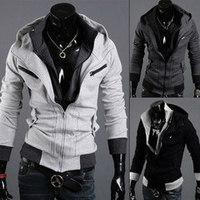 hoodie Men  New brand men's Jackets warm coat hoodie Jacket Size M-2XL