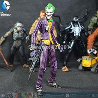 5pcs/pack Wholesale Batman Movie Action Figure Toys The Joker 16CM PVC Action Figure Model Toy For Gift/Kids/Collection/Children