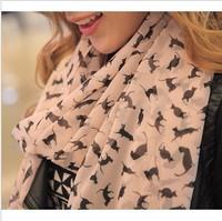2014 HOT Sale new style Women's long cotton Soft Scarves Muffler Promotional Discounts Chiffon Women Print Scarf