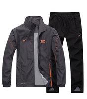 2014 man sportswear tracksuit set jacket+pants men's leisure sportswear jogging suit set