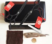 professional salon products shaving tesoura de cabeleireiro profissional hair scissors styling tools 2pairs/set 5.5&6.0 3670
