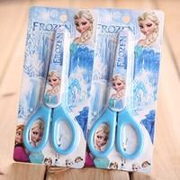 Hot Allover The World Item Frozen Scissors Cartoon Shears Free Shipping F141018200