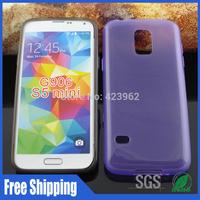 500pcs/lot For Samsung Galaxy S5 Mini G800 G906 jelly design tpu phone case free shipping
