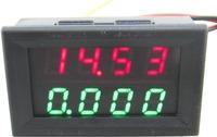 """red+green dual 0.28 """"  2in1 0-33.00V/0-3.000A digital voltmeter ammeter volt amp panel meter voltage current monitor volt gauge"""