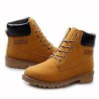 Warm Winter Men's Fur Boots Shoes New 2014 Fashion Nubuck Ankle Desert Cowboy Work Boots Bota Masculino Zapatos-Hombre