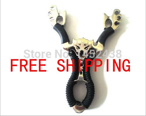 Free shipping Slingshot toys slingshot hunting powerful catapult slingshot, adult recurve bow hunting(China (Mainland))