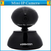 Keekoon Mini Indoor Wifi HD Network Security Pan Tilt Audio Video CCTV Smart Cameras IP Wireless with iPhone and Android App