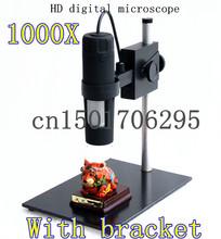 1000x 8LED HD 2MP USB микроскоп Andonstar цифровой микроскоп USB лупы камеры стенд база