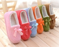 Slippers hot-selling package with plush thermal cotton-padded slippers lovers thermal cotton-padded shoes