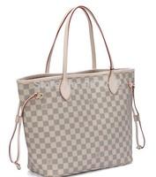 Christmas specials Free shipping ladies brown letter tote bag louis Handbag N51106,m40157 shoulder bag GM/MM louis 40cm tote bag