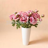 150Pcs /Lot  Wholesale 8.5*33CM Diameter Silk Made Rose Flower  Handmade Diy Wedding Car Decoration Party Decor Gift Flower
