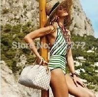 2014 fashion women's tote bag louis Handbag new style shoulder bag brown louis bag speedy 30cmx21cmx17cm N41553 Free shipping