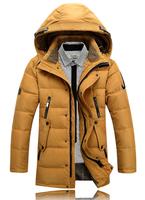 New Brand Fashion Warm Winter Jacket Men Coat Outerwear The North Hoodie Jacket Hoody Duck Down Jacket Mens Parka Coat