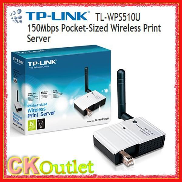 Brand New TP-Link TL-WPS510U WPS510U Pocket-Sized Wireless Print Server with 1 YEAR Warranty (Free Gift)(China (Mainland))