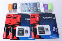 Memory Card 64GB Micro SD Card Class 10 Flash Memory Cards Microsd SDHC TF Gift Adapter USB Reader Free Shipping MicroData