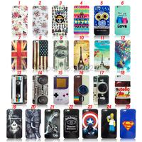 Soft TPU Owl US. UK, Flag Phone Case For Iphone 6 Plus Case Wholesale Free Shipping