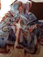 100% Silk Scarf!! 2014 NEW Autumn Silk scarf !! Fashion Women Letter Scarf Silk Scarf 180*90CM(L )