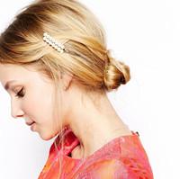 6 pcs/Set Pearl Hair Pins Hair Jewelry Hair Accessories for Women wedding hair pins Decoration for Hair,Free Shipping