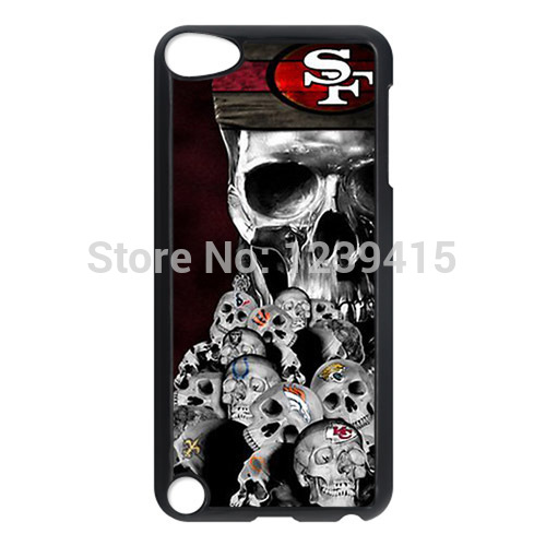 NFL San Francisco 49ers Custom Hard Back Protective Case Cover Shell for Apple iPod Touch 5 5G 5th Generation -92301(China (Mainland))