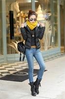 2014 new women's winter coat big yards short paragraph Slim female cotton-padded jacket fashion