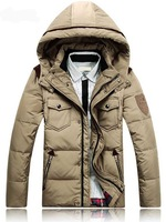 New Brand Fashion Autumn and Winter Jacket Men Coat Outerwear The North Hoodie Jacket Men's Parka Coat Hoody Duck Down Jacket