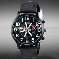 V6 Super Speed Men's Fashionable Large Dial Analog Wrist Watch men luxury brand military Quartz watch free shipping
