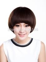 "2014 fa shion 100% human hair top 1.5"" handmade  full zlan wig"