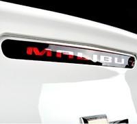 Auto Black High-mount Braking Lamp Rear Body Stoplight Sticker Fit For Chevrolet Malibu