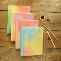 Color loose-leaf notebook, diary, Graffiti, 80 sheets