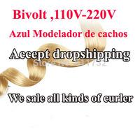 Dropshipping! Bivolt Styling tools Gray roll hair curler ,hair roller ,Modelador de cachos hair styler 110-220V-free shipping