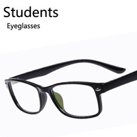 Wholesale Fashion Retro Rivets Nail Students Eyeglasses Youth Decorate Plain Mirror Spectacles Free shipping