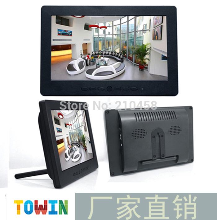 FOR 7 INCH l7007 small lcd bnc av vga mini computer display mini monitor(China (Mainland))