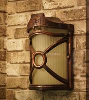 Europe Style Yard wall light outdoor wall lamp aisle lights waterproof garden lamp fashion vintage rustic wall lamp