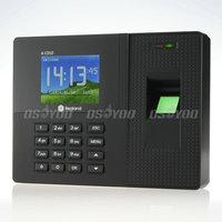 "2.8"" A-C010 Employee Biometric Fingerprint Time Clock Attendance Support Password ID Card Recorder Free Express 10pcs/lot"