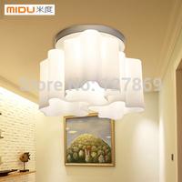 Free shiping  modern porch lights restaurant lights bedroom lamp door lamp aisle lighting three clouds Ceiling