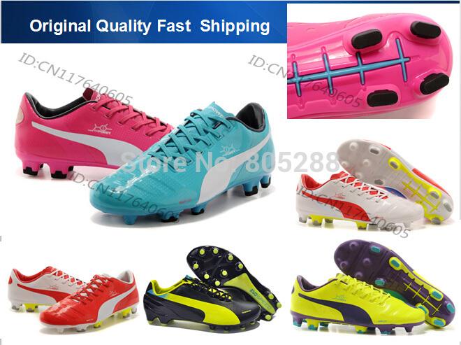 De alta qualidade FG chuteiras da copa do mundo evoSPEED ao ar livre sapatos de futebol homens botas de futebol sapatos(China (Mainland))