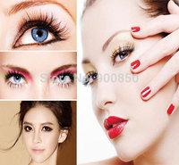 20 Pairs Black Natural Long Thick False Eyelashes Fake Eye Lashes Makeup TipsFree&Drop Shipping