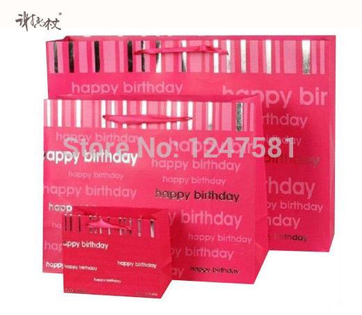 Baby Shower Parties Weddings Birthday Shopping Birthday Shopping Fantastic decorative Paper Gift Bag(China (Mainland))
