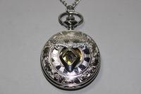 The Mortal Instruments Pocket Watch movie necklace,City of Bones angelic power rune vintage Pendant watch necklace