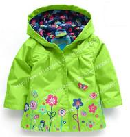 Children winter outwear. Hooded jacket, Girls Jackets, jacket & Coats, Children's Coat, Spring/autumn fashion children raincoat