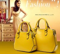 XMAS Fashion Famous Brand 2014 Women Handbags Designer Leather Shoulder Bags High Quality Oil Wax Leather Elegant Women's Bag